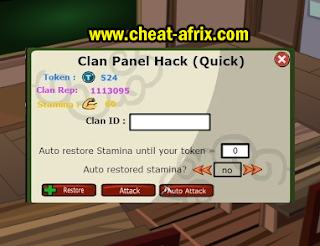 Cheat Clan Panel Ninja Saga 2015 Terbaru