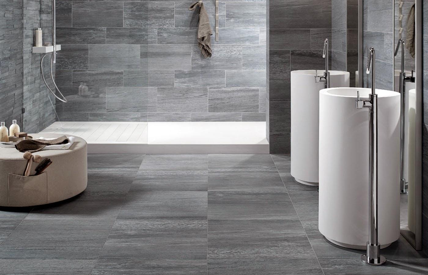 Amedeo liberatoscioli consigli utili arredare con il grigio e il nero for Tinteggiare il bagno