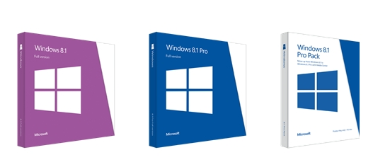 Microsoft announced the price in the U.S. for Windows 8.1. It will take between 120 and 200 dollars depending on the version.