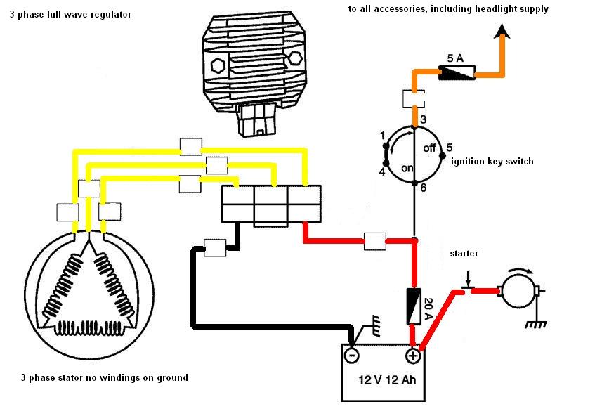 Solusi Battery  Cara Mudah Modifikasi Kiprok    Regulator
