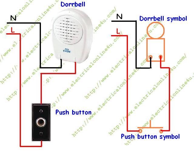 Doorbell Wiring Diagram How to wire or install doorbell in your