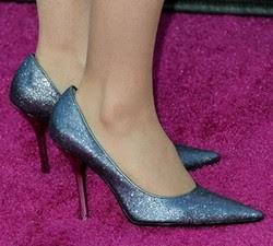 Sapatos com brilho tendencia para o outono/inverno