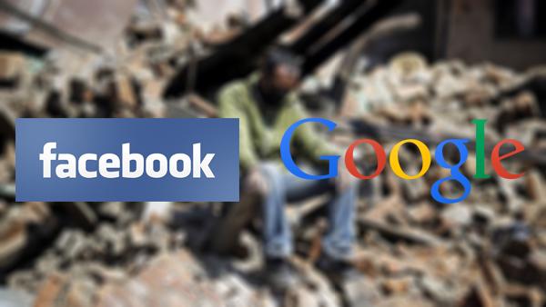 هذا ما قدمته شركة جوجل وفيسبوك لمساعدة ضحايا زلزال نيبال المدمر