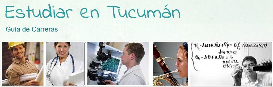 Estudiar en Tucumán - Guía de Carreras