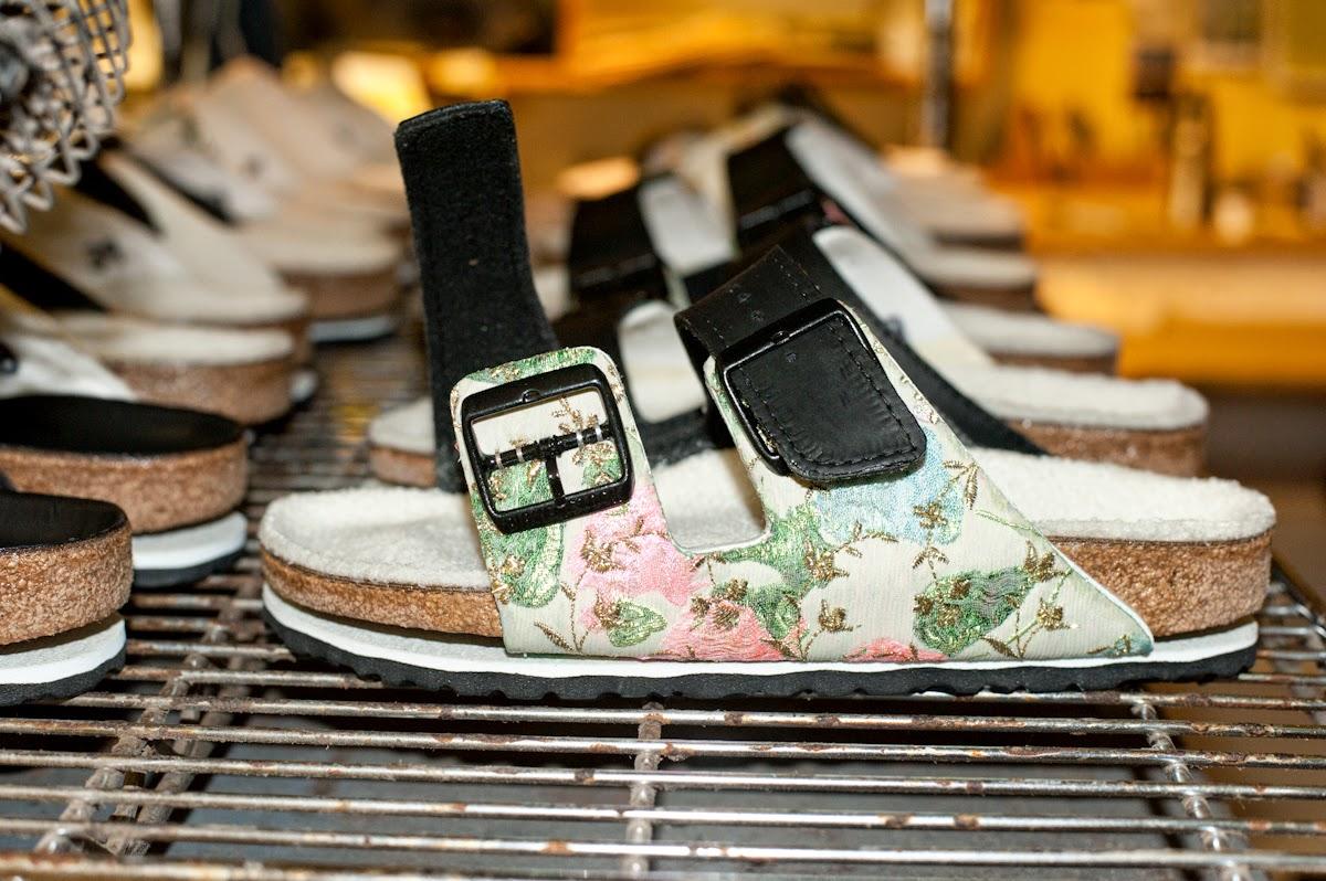 Houghton custom Birkenstock sandals