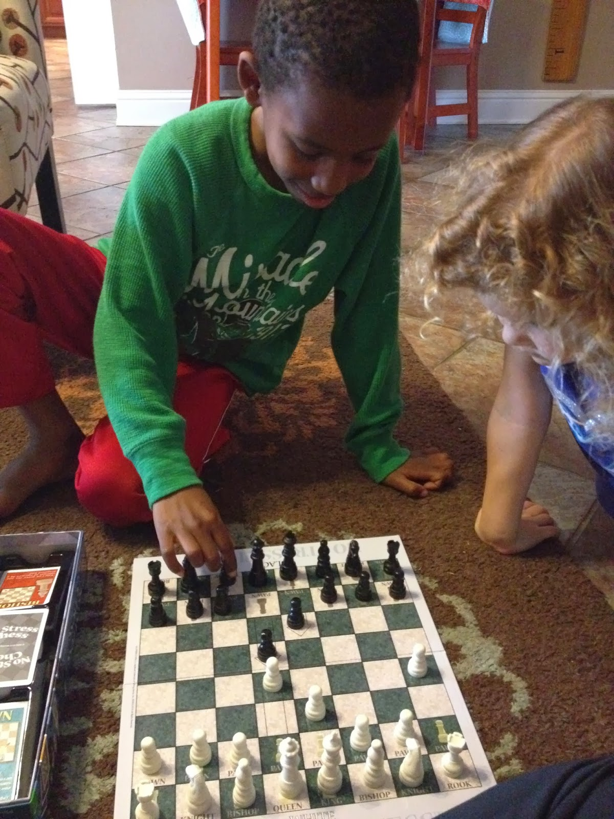 no stress chess instructions