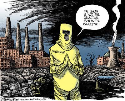 Santorum cartoon