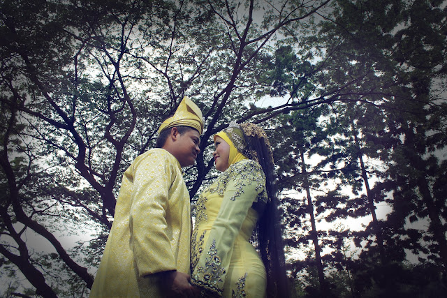 ridzuan & maria outdoor photoshoot 7