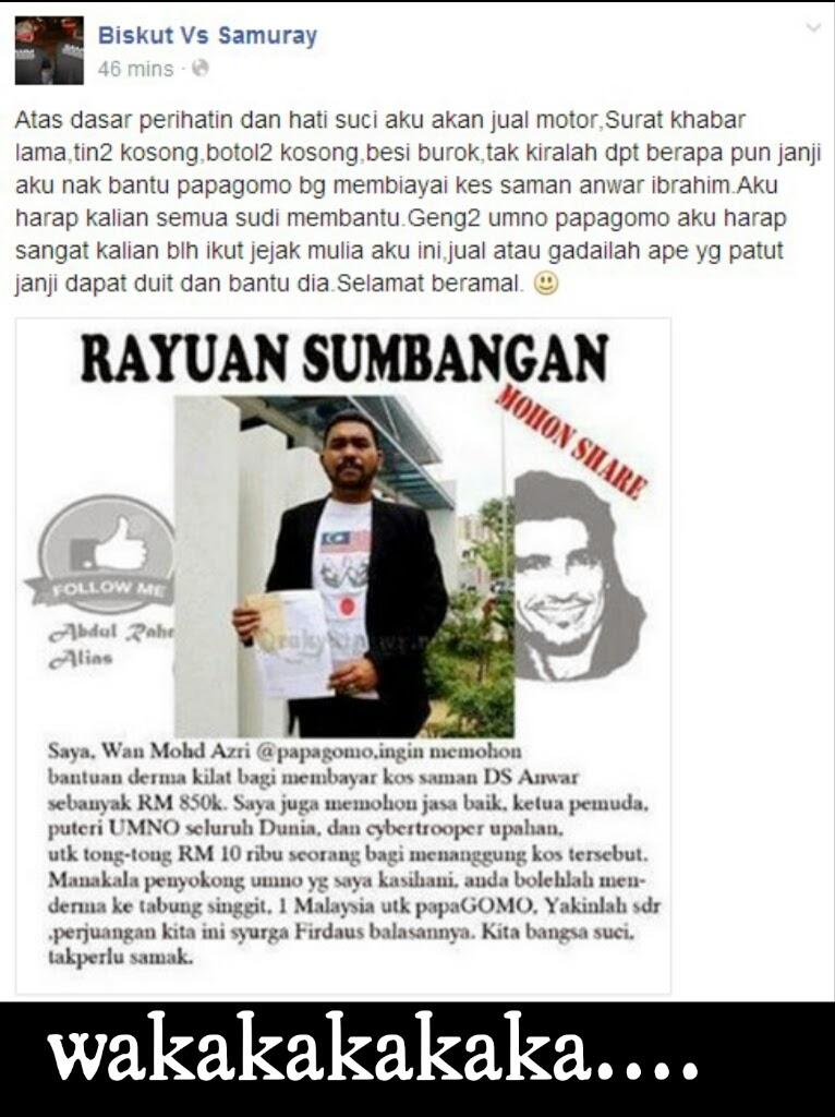 peringatan bloglist malaysia tidak bertanggungjawab terhadap komentar