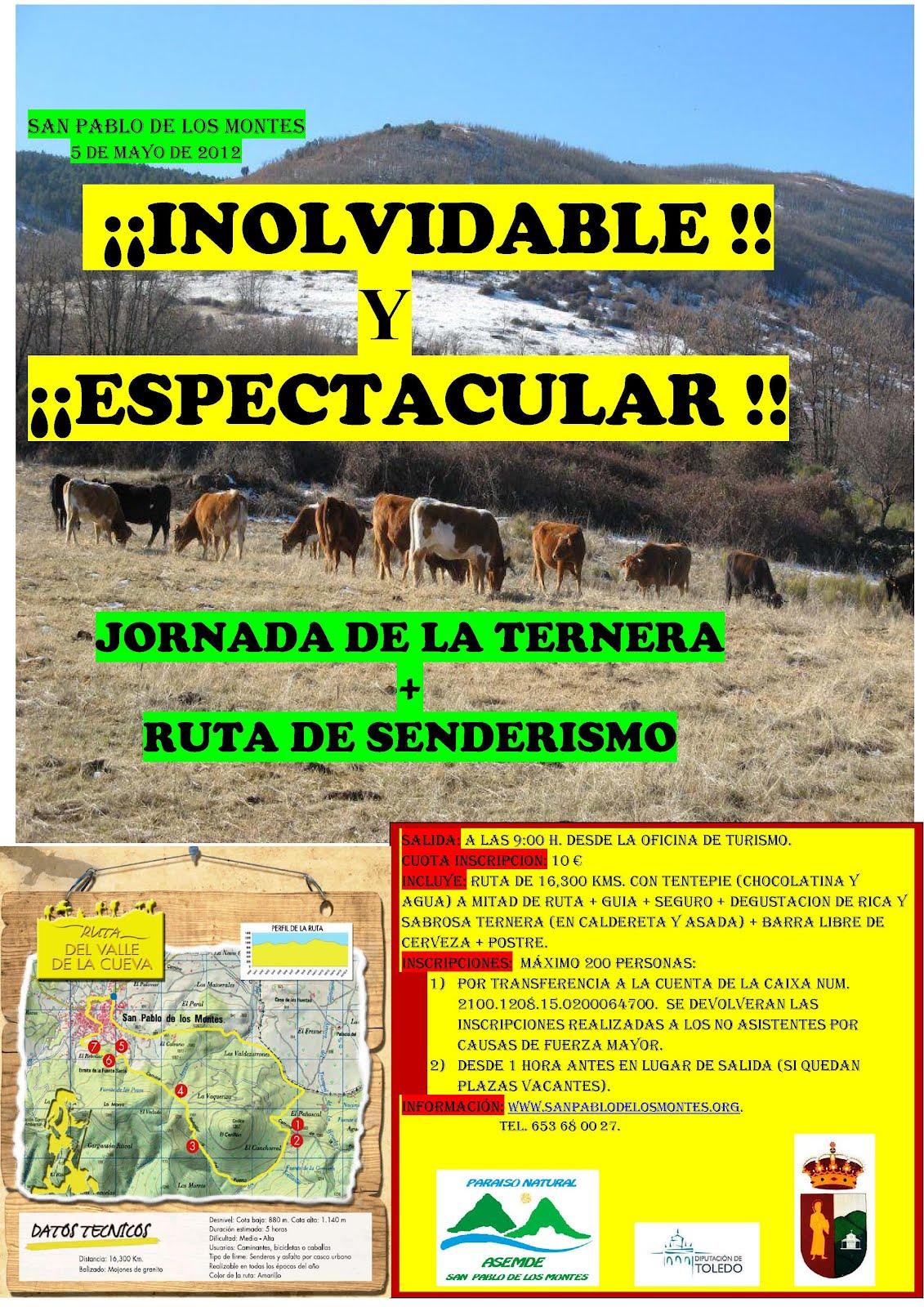 Anda m s san pablo valle de la cueva 05 05 2012 - Oficina de turismo de almagro ...