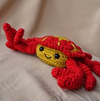 http://www.ravelry.com/patterns/library/cedric-the-african-flower-crab