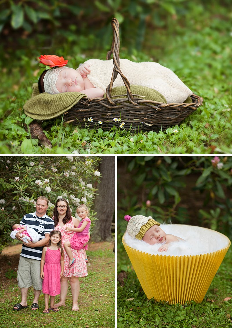 Gracelinn Newborn Session Sandra Jackson Photography