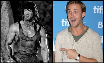 Ryan Gosling se prend pour Rambo