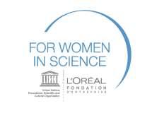 Logo konkursu L'Oréal dla kobiet i nauki