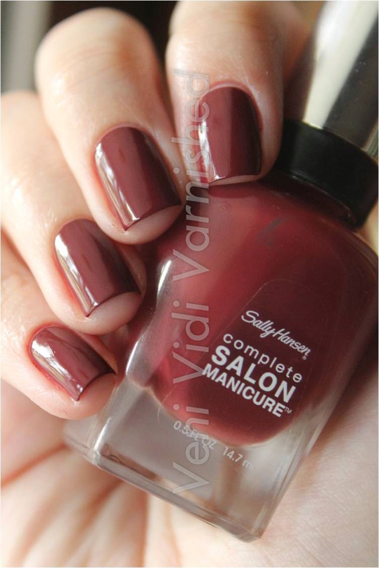 Sally Hansen Complete Salon Manicure New York Fashion Week NYFW 2014 Rupee Red