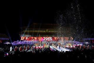 Feliz Ano Novo; Veja como diferentes países receberam 2016