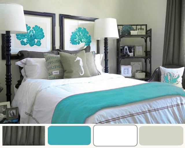 Turquoise Bedroom Decorating Ideas Interior Designs Room - Turquoise bedroom decorating ideas