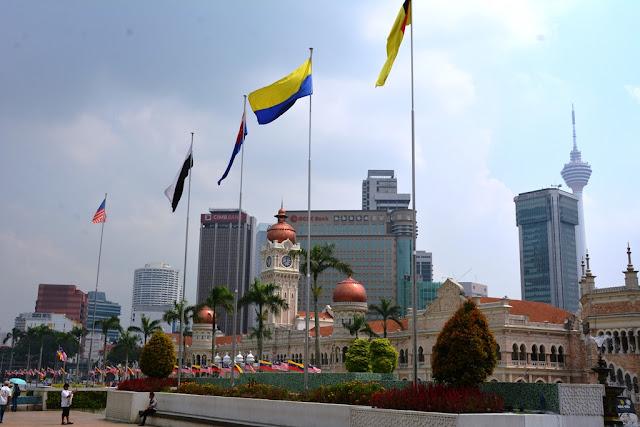 Merdeka Square Kuala Lumpur Sultan Abdul Samad