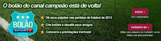 Bolão Sportv 2012