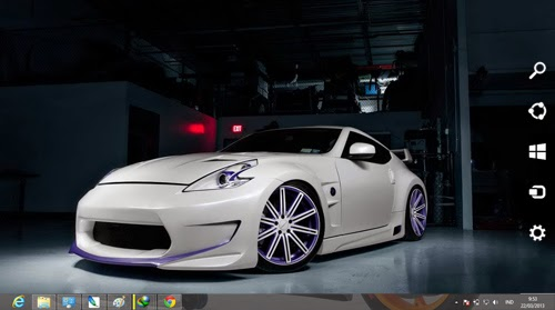 Nissan 370 Z Theme For Windows 7 And 8 8.1