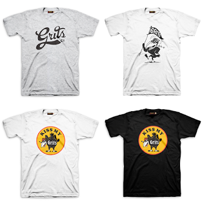 Grits Co. Summer 2015 T-Shirt Collection