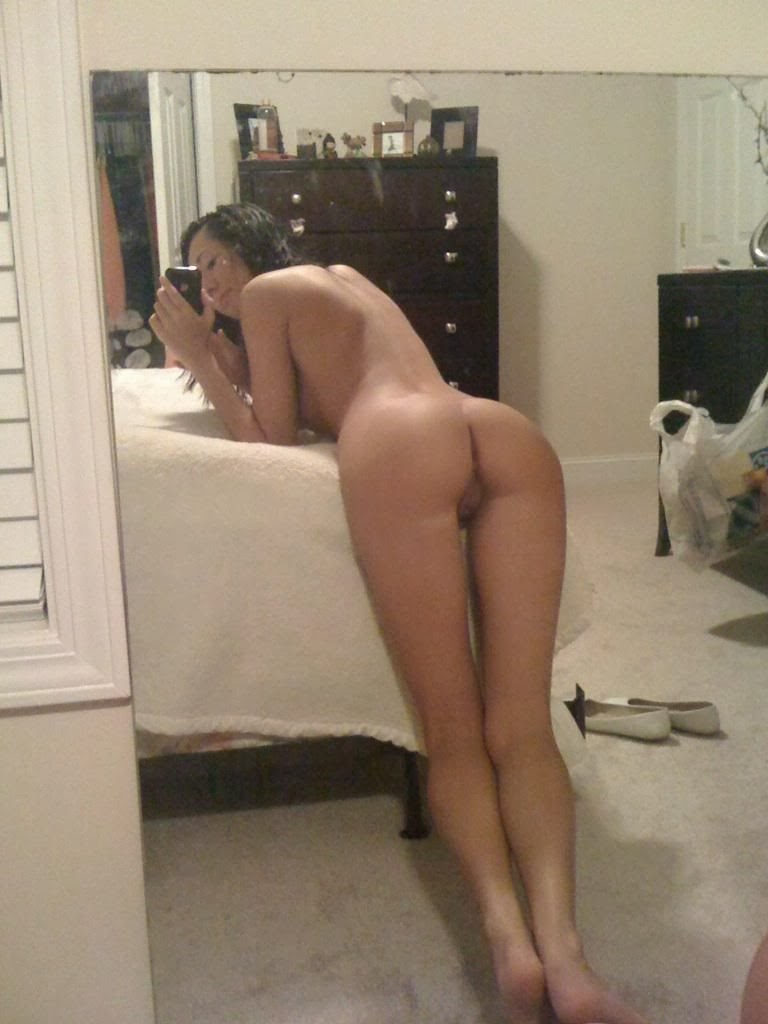 naked mirror teacher selfpic