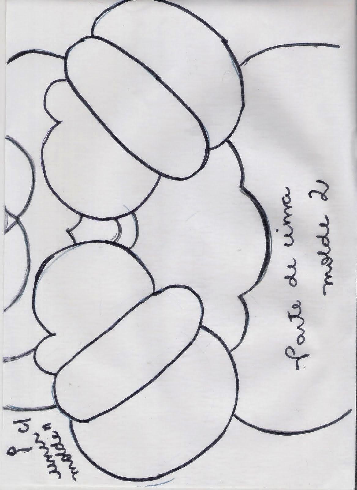 Moldes capa de natal para vaso sanitário