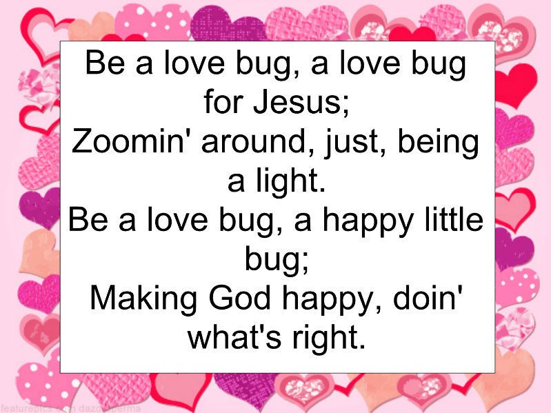 Children\'s Gems In My Treasure Box: Be A LOVE Bug - Children\'s Song ...