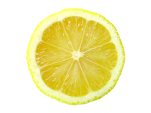 lemon for skin exfoliation