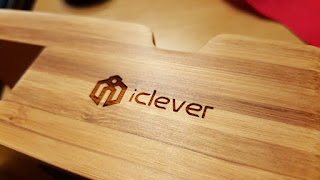 Recensione supporto stand legno docking station iClever per iPhone 6-6s e Apple Watch