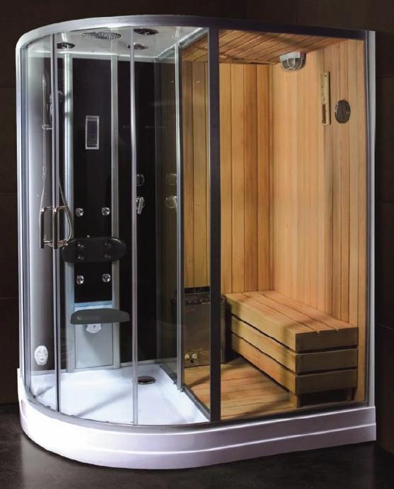 Shower With Sauna Built Maya
