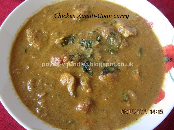 Priyas virundhu chicken xacuti goan curry thank you for visiting my blog please come back again for more authentic and mouth watering recipes forumfinder Images
