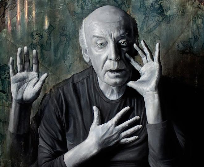Retrato de Eduardo Galeano (detalle)