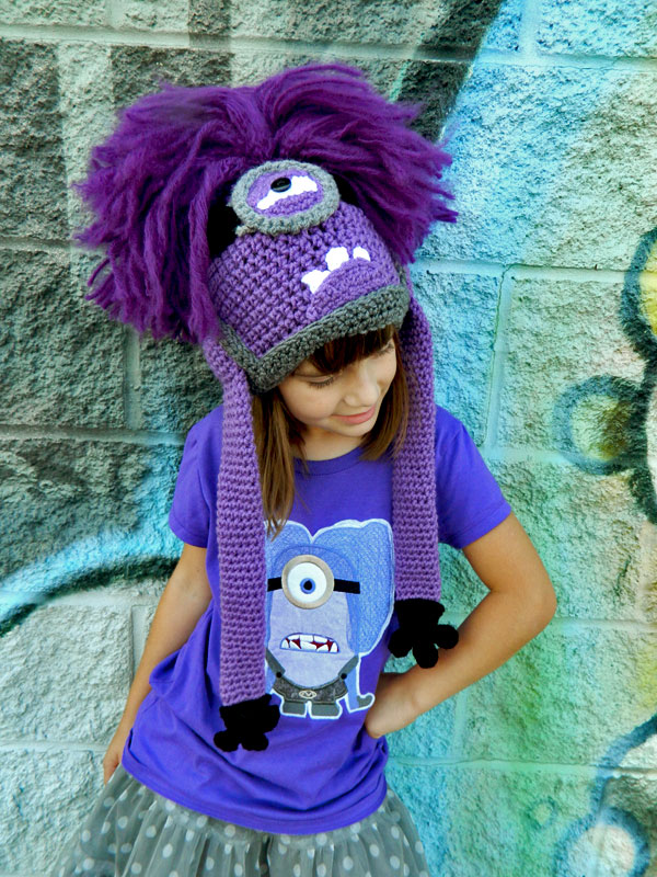 Ravelry: Evil Minion Hat pattern by Jaley Davis