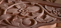 carved wood furniture