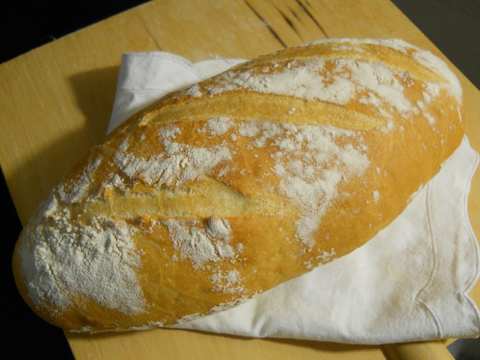 Semolina Sesame Artisan Bread - That Susan Williams