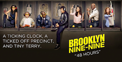 Brooklyn Nine-Nine - Episode 1.07 - 48 Hours - Review