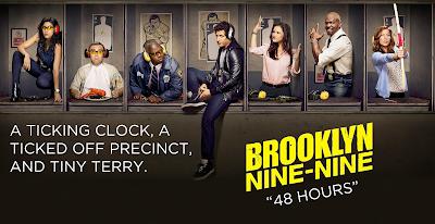 Brooklyn Nine-Nine - Episode 1.07 - 48 Hours - Review