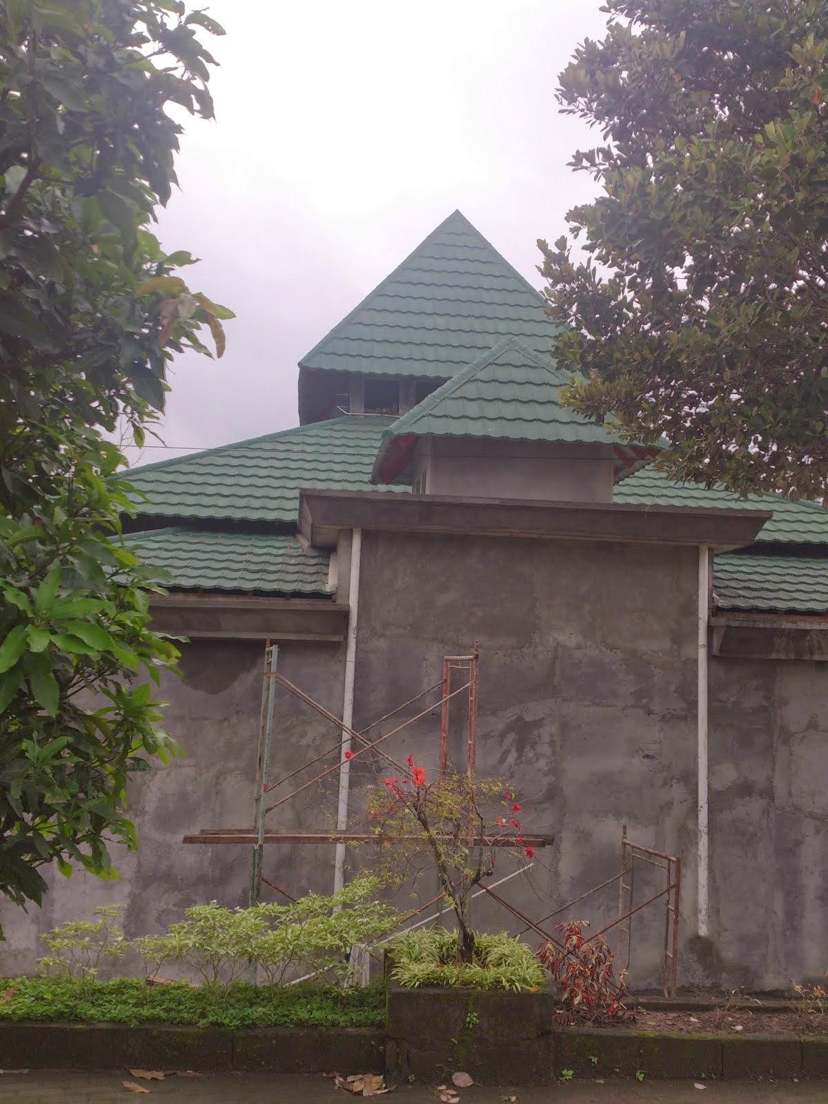 Tampak Pengimaman Masjid Assalam