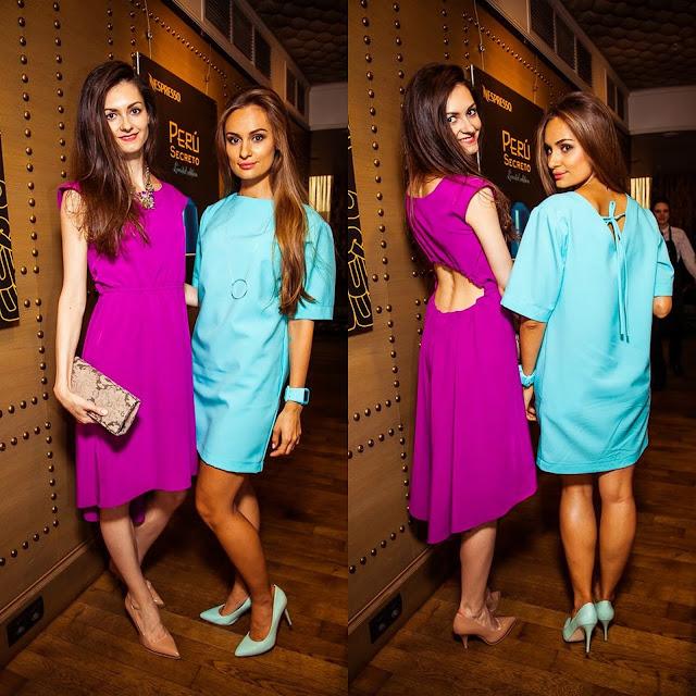 Анастасия Грибач Shurshitta и Нати Ко в платьях KaSa Design