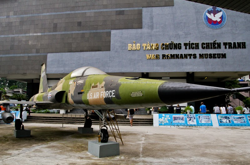Ho Chi Minh War Museum  Vietnam
