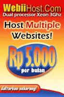 Hosting WebiiHost untuk Website Anda