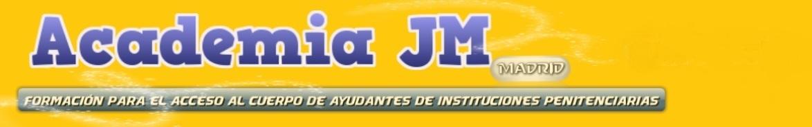 <center>Academia JM    Madrid</center>