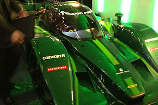The Lola-Drayson B12/69EV project pioneer