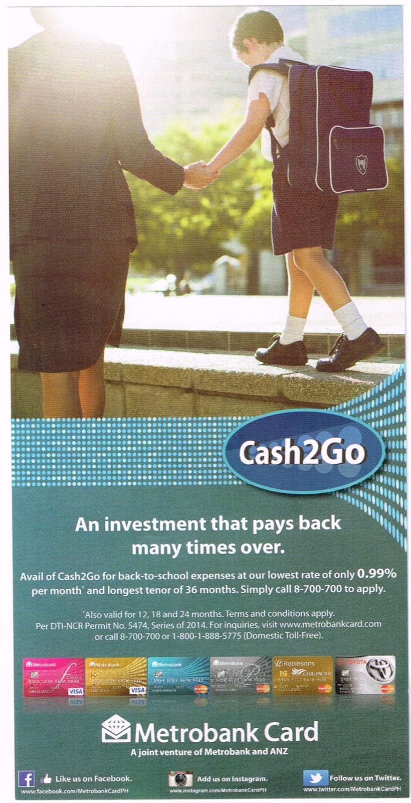 Metrobank CASH2GO