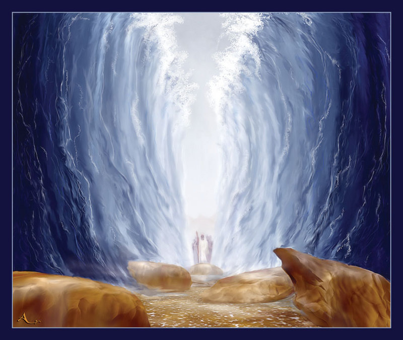 LESSON 4: Parting the Red Sea - Kids Sunday School Place
