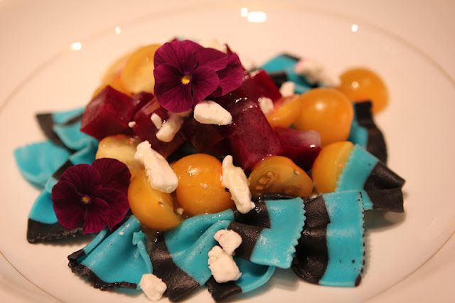 Romancing the Home: Beets and Blue Bowtie Pasta Salad