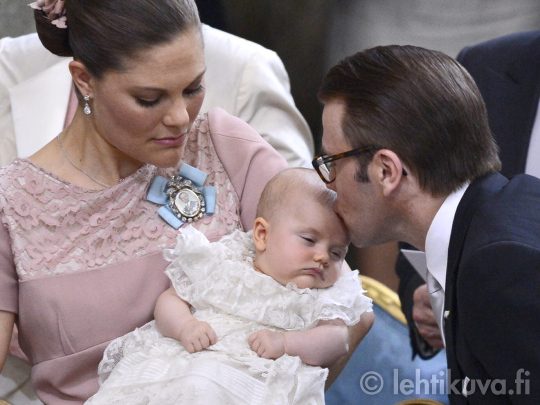 Christening of Princess Estelle: May 22, 2012