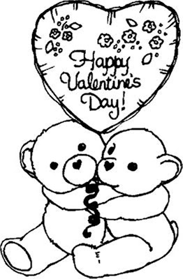 valentine's day coloring pictures