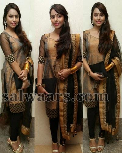 Kenisha Chandran Silk Salwar